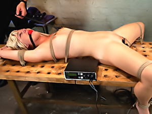 Bondage, Chick, Electrified, Slut