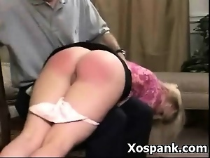 Alluring, Ass, Babes, Blondes, Chick, Punish, Spanking, Upskirt