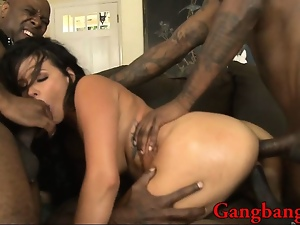 Babes, Double penetration, Gangbang, Group sex, Hardcore, Interracial, Penetrating