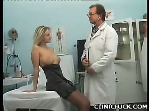 Amateur, Blondes, Busty, Clinic, Uniform