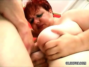 Bbw, Belly, Granny, Mature