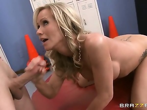 Amateur, Blondes, Blowjob, Crazy, Milf, Soccer