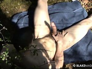 Gay, Masturbating, Outdoor, Talk