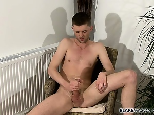 Gay, Laughing, Masturbating, Solo