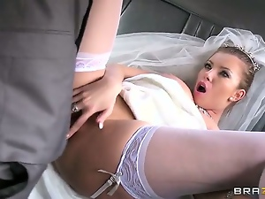 Bride, Brunettes, Hardcore, Milf, Pornstars, Riding, Stockings