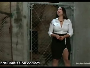 Bdsm, Blowjob, Bondage, Boobs, Bound, Breast, Busty, Domination, Fetish, Gagging, Hardcore, Hooters, Juggs, Oral, Punish, Slave, Tied up, Tits