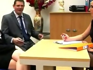 British, Cfnm, European, Femdom, Fetish, Handjob, Humiliation, Office