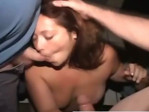 Amateur, Blowjob, Cumshots, Exhibitionists, Gangbang, Group sex, Public, Reality