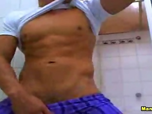 3d, Dick, Gym, Hunk, Masturbating, Muscled, Webcam