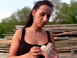 Amateur, Brunettes, European, Flashing, Hardcore, Money, Outdoor, Pov, Public