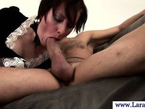 Ass, Blowjob, Brunettes, Classy, English, European, Hardcore, Hd, Mature, Sexy, Spanking, Stockings, Uniform