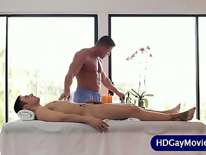 Blowjob, Gay, Hunk, Massage, Muscled, Sucking
