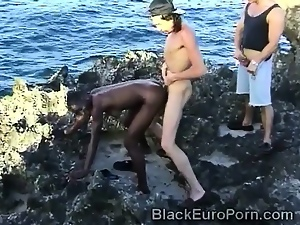 African, Babes, Beach, Blowjob, Brunettes, European, Hairy, Interracial, Teens, Threesome