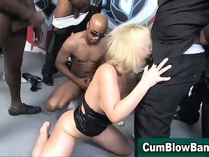 Blowjob, Bukkake, Cumshots, Gangbang, Group sex, Hardcore, Hd, Interracial, Whore