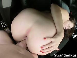 Ass, Babes, Big cock, Big tits, Brunettes, European, Hardcore, Outdoor, Pounded, Public, Teens