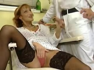 Clinic, Double penetration, Fisting, German, Group sex, Hardcore, Orgy, Squirting