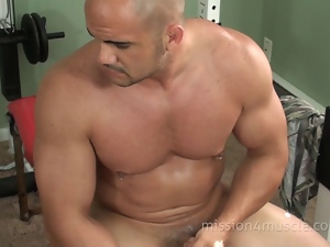 Gay, Hunk, Muscled, Small cock, Strip, Wrestling