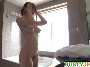Asian, Big tits, Busty, Japanese, Nude, Posing, Shower, Softcore