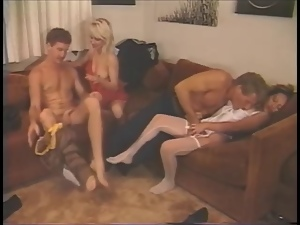 Bunny, Group sex, Vintage
