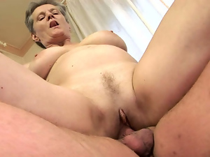 Blowjob, Cowgirl, Granny, Horny, Lady, Missionary, Riding