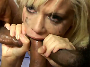 Big tits, Black, Blondes, Blowjob, Brutal, Busty, Deepthroat, Gangbang, Group sex, Interracial