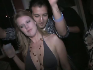 Bikini, Black, Brunettes, Dancing, Drunk, Party, Student