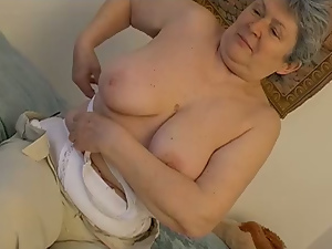 Bbw, Granny, Hairy, Huge, Masturbating, Pink, Pussy, Sex toys, Solo, Tits, Vibrator