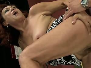 Brunettes, Cougar, Doggystyle, Granny, Old and young