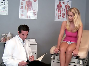 Babes, Big tits, Blondes, Busty, Doctor, Shaved, Shorts, Uniform