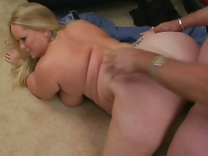 Bbw, Big butt, Big tits, Blondes, Blowjob, Chubby, Cum, Doggystyle, Fat, Fucking, Hardcore, Shaved