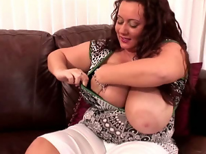 Bbw, Big butt, Big tits, Close up, Cunt, Dildo, Fat, Masturbating, Shorts