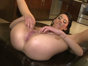 Ass, Blowjob, Brunettes, Hardcore, Kitchen, Missionary, Riding