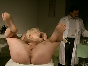 Bdsm, Big tits, Blondes, Doctor, Nipples, Pussy, Sex toys