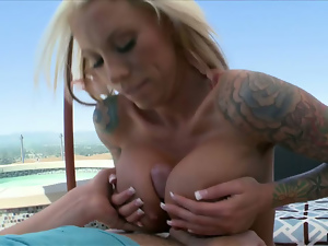 Big tits, Blondes, Blowjob, Booty, Busty, Fake tits, First time, Milf, Titty fuck