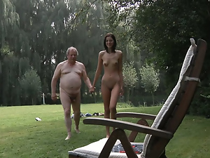 Blowjob, Brunettes, Cumshots, Fucking, Hardcore, Old, Old and young, Old man, Outdoor, Skinny, Small tits, Tall, Teens, Ugly