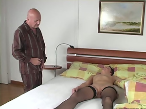 69, Blowjob, Brunettes, Handjob, Hardcore, Old and young, Old man, Riding, Shaved, Short hair, Sleeping, Small tits, Stockings, Teens