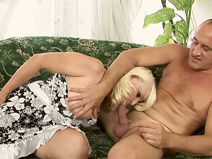 Blondes, Blowjob, Busty, Fingering, Granny, Mature, Old man