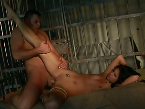 Ass, Bdsm, Blowjob, Brunettes, Deepthroat, Hardcore, Missionary, Prison