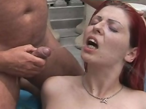 Double penetration, Hardcore, Machine sex, Old man, Outdoor, Redheads, Sex toys, Teens
