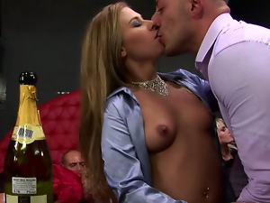 Blondes, Blowjob, Brunettes, Busty, Club, Drunk, Group sex, Hardcore, Lesbian, Party, Riding, Small tits