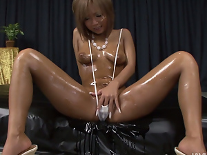 Asian, Ass, Blondes, Boobs, Fingering, Fondling, Long hair, Nude, Oiled, Perverted, Pussy, Small tits