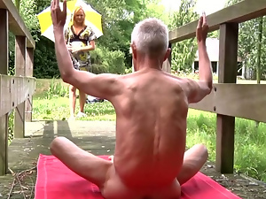 Blondes, Funny, Lingerie, Old and young, Outdoor, Public, Reality, Small tits, Teens