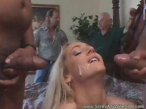 Amateur, Blowjob, Cougar, Cuckold, Group sex, Hardcore, Housewife, Husband, Milf, Swingers, Threesome