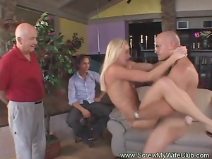 Babes, Cougar, Cuckold, Group sex, Hardcore, Housewife, Husband, Milf, Swingers, Threesome