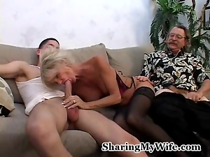 Blowjob, Cowgirl, Cuckold, Cumshots, Facials, Granny, Group sex, Mature, Mmf, Riding, Share, Stockings, Threesome, Vibrator