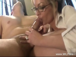 Blondes, Blowjob, Boss, Cougar, Cowgirl, Cumshots, Doggystyle, Facials, Glasses, Housewife, Milf, Office, Secretary, Wife