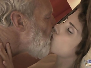 Blowjob, Cumshots, Hardcore, Kissing, Mature, Old, Old man, Teens