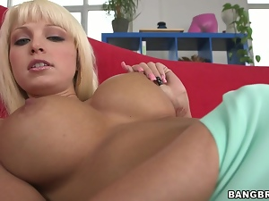 Big tits, Blondes, Blowjob, Cowgirl, Creampie, Hardcore, Panties, Riding