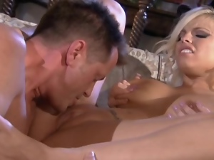 Big tits, Blondes, Blowjob, Cowgirl, Cumshots, Facials, Hardcore, High heels, Latex, Riding, Rubber