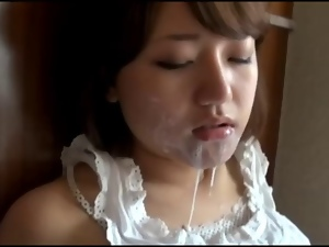 Asian, Blowjob, Cumshots, Cute, Deepthroat, Japanese